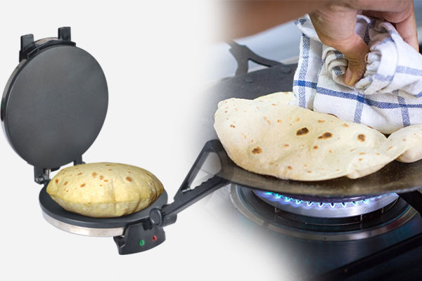 Why roti makers are better than traditional roti makers