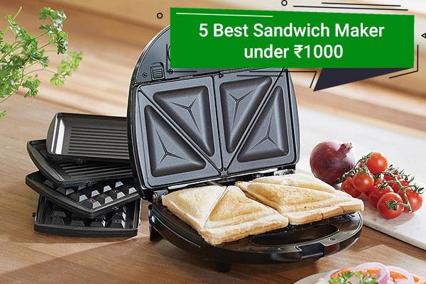 Best Sandwich Maker Under ₹ 1000