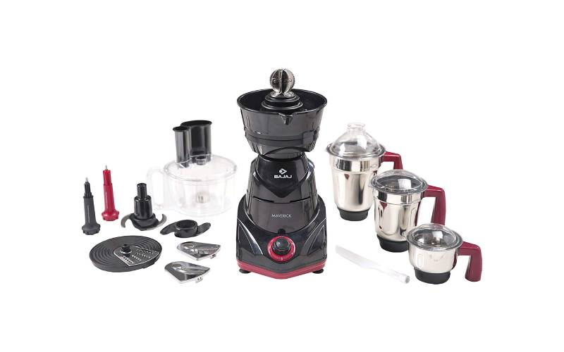Bajaj Maverick Mixer Grinder with 3 Jars