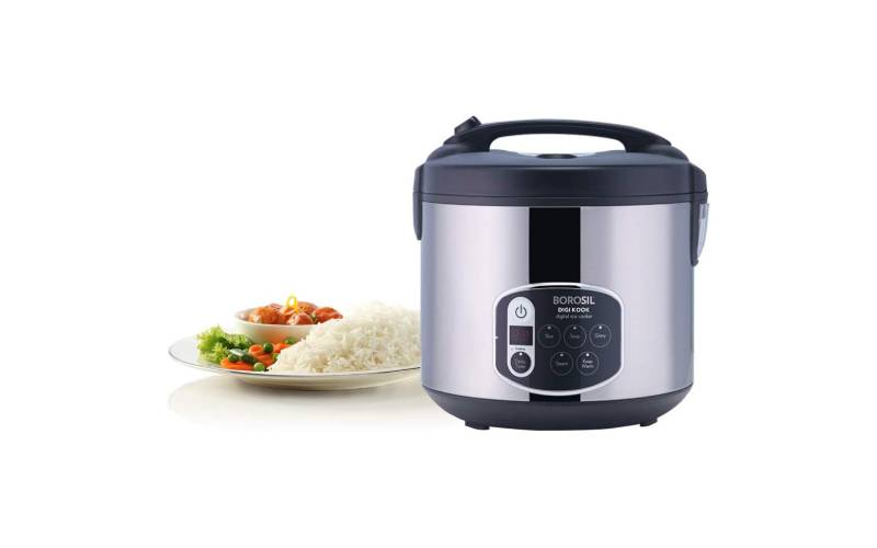 Brosil 1.8 Liters Electric Rice Cooker and Streamer