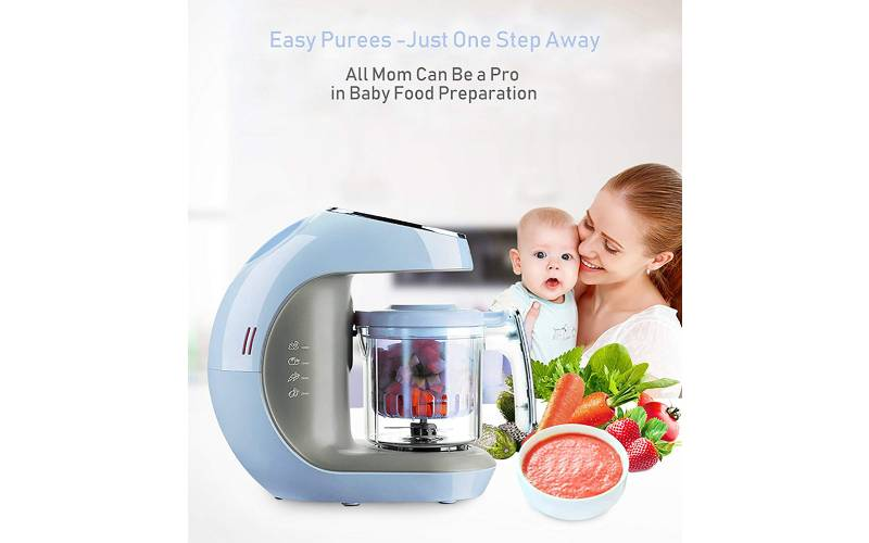 Kiddale ABS 5 in 1 Smart Food Processor