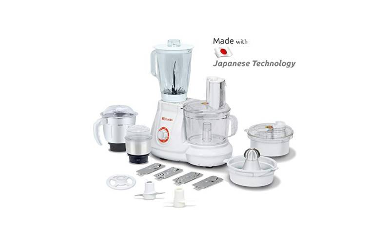 Rico Food Processor with Coconut Scraper and Juicer