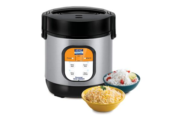KENT Personal Rice Cooker-0.9-litres