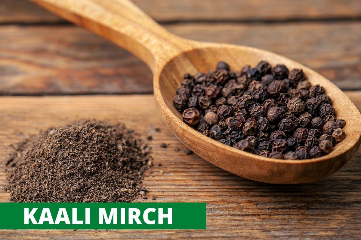 Black Pepper (Kaali Mirch/ Golki)